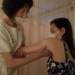 ワクチン接種後の腕の痛み・・・サロンに来て学ぶ!?